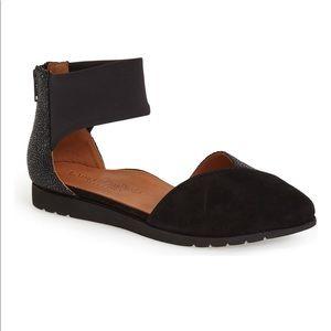 L'Amour des Pieds Marceau Ankle Strap Flat Size 10